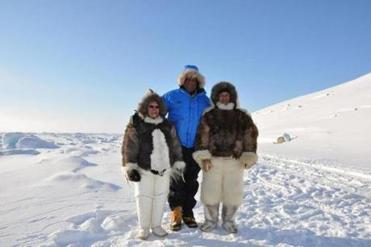 Dr. Counter discovered descendants of the explorer Matthew Henson in Greenland.